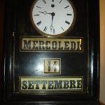 pendolo con calendario