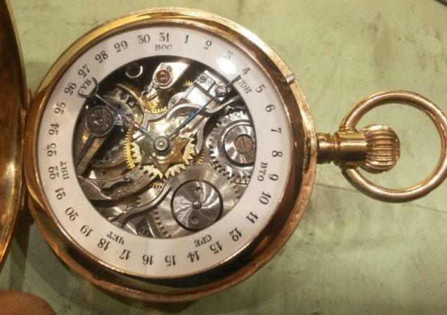 Orologio da tasca con calendario